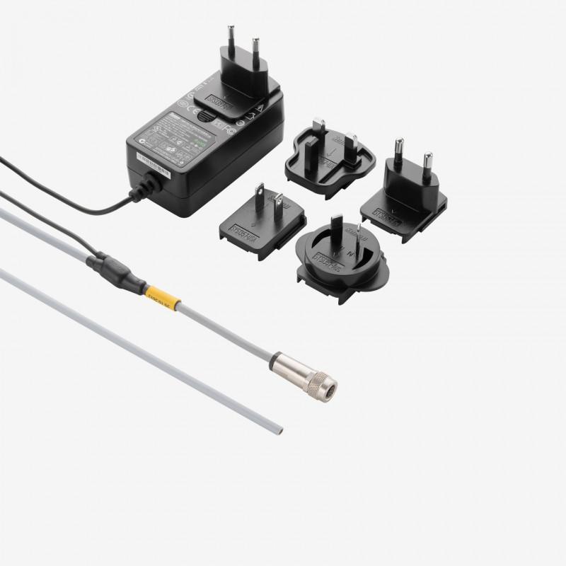 I/O+供电,标准Y型电缆,可接多国电源,直式,1.8米/5米