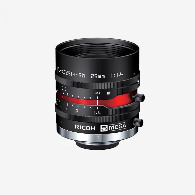"""镜头, RICOH, FL-CC2514-5M, 25mm, 2/3"""""""