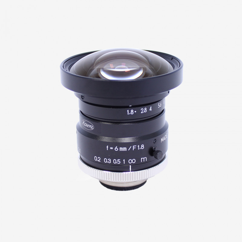 "Lens, Kowa, LM6HC, 6 mm, 1"" C-Mount. 1"". 6 mm. Kowa. AE00129"