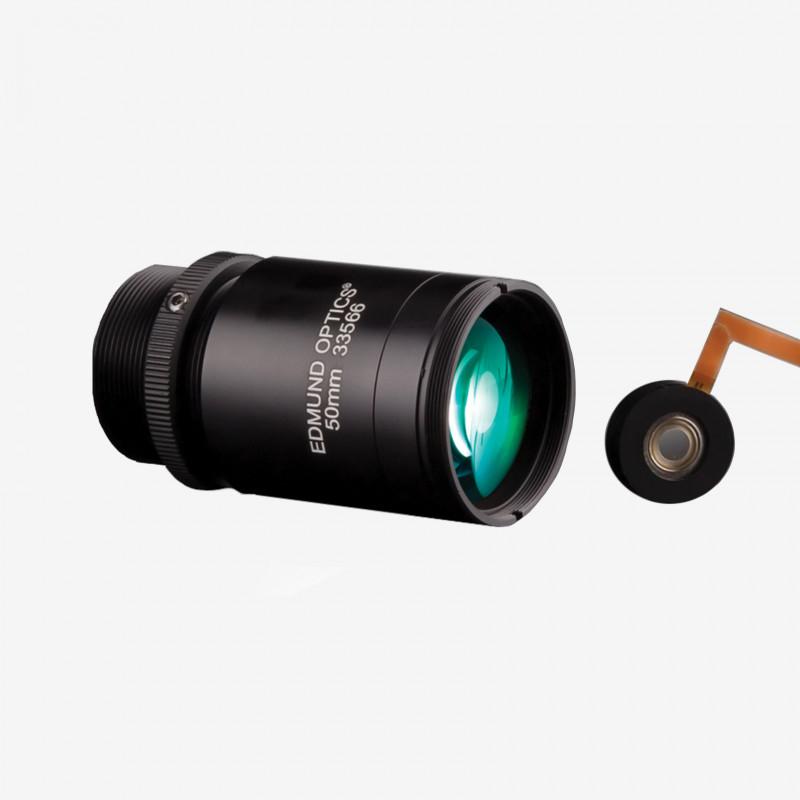 """Objektiv, Edmund, TECHSPEC Cx-Series, 50 mm, 2/3"""" C-Mount. 1/1.8"""". 12 mm. Edmund. AE00179"""