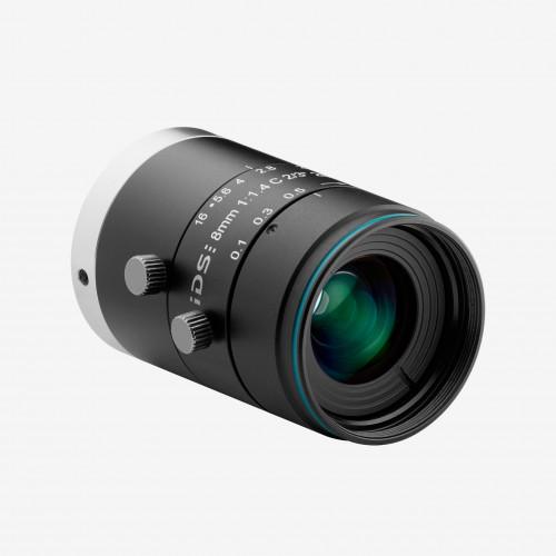 """镜头, IDS, IDS-2M23-C0814, 8 mm, 2/3"""""""