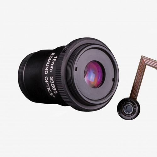 """Objektiv, Edmund, TECHSPEC Cx-Series, 16 mm, 2/3"""" C-Mount. 1/1.8"""". 12 mm. Edmund. AE00179"""