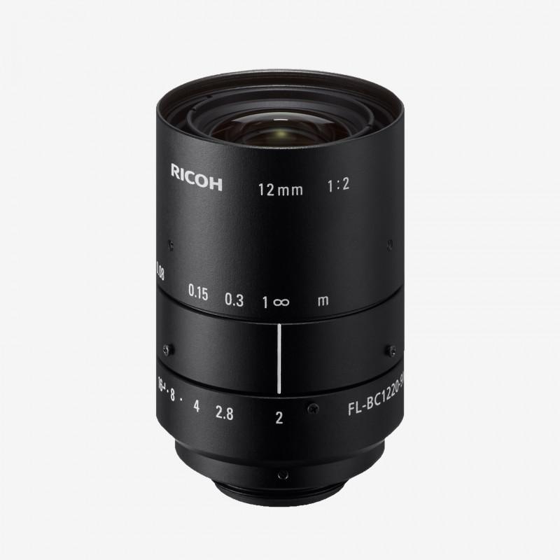 """镜头, RICOH, FL-BC1220-9M, 12 mm, 1"""""""