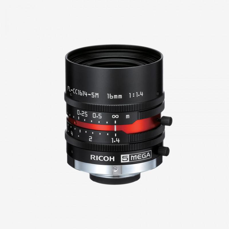 """镜头, RICOH, FL-CC1614-5M, 16mm, 2/3"""""""
