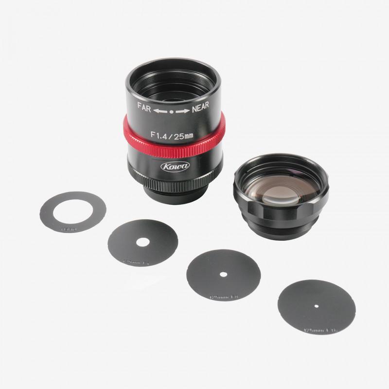 "Lens, Kowa, LM25JCM-WP, 25 mm, 2/3"""