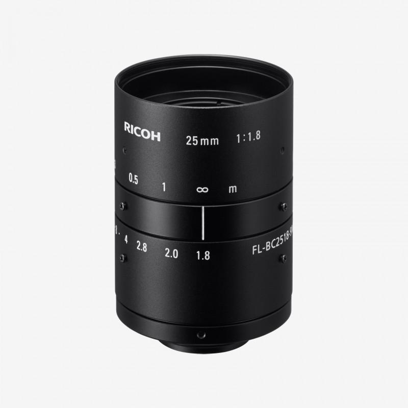"""镜头, RICOH, FL-BC2518-9M, 25mm, 1"""""""