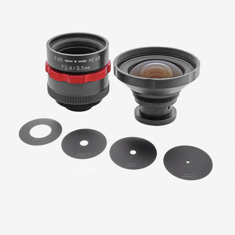 """镜头, Kowa, LM3NCM-WP, 3.5 mm, 1/1.8"""""""