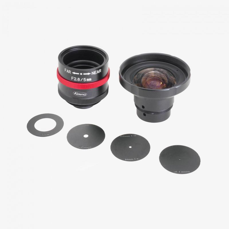 "Lens, Kowa, LM5JCM-WP, 5 mm, 2/3"""