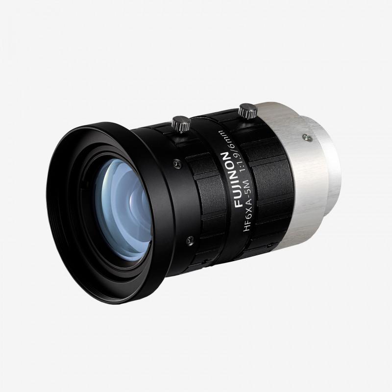 """Lens, Fujifilm, HF6XA-5M, 6 mm , 2/3"""" C-Mount. 2/3"""". 6 mm. Fujifilm. AE00200"""