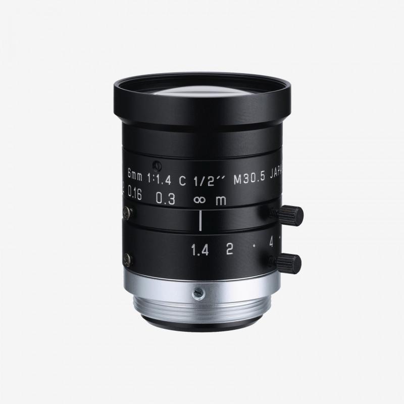 "Lens, RICOH, FL-HC0614-2M, 6 mm, 1/2"" C-Mount. 1/2"". 6 mm. Ricoh. AE005021220000"